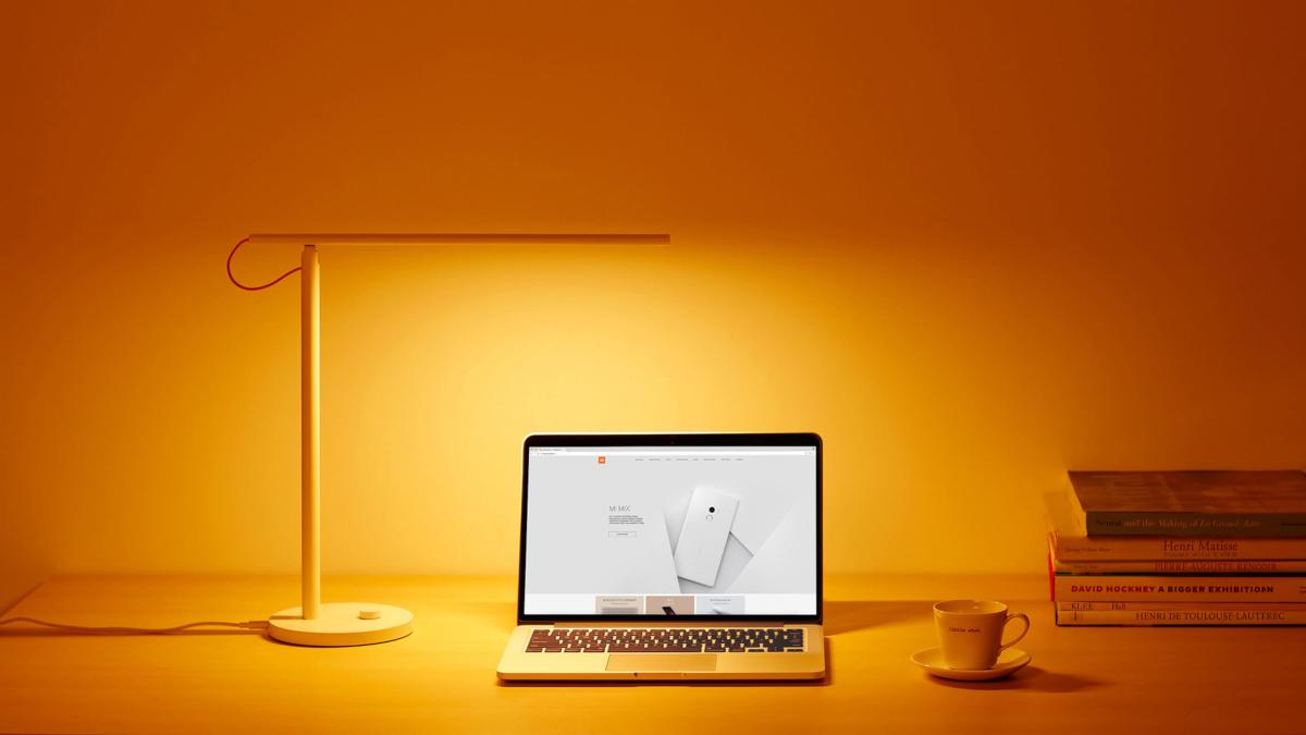 Lampka Xiaomi mi smart tryb czytania tryb komputerowy